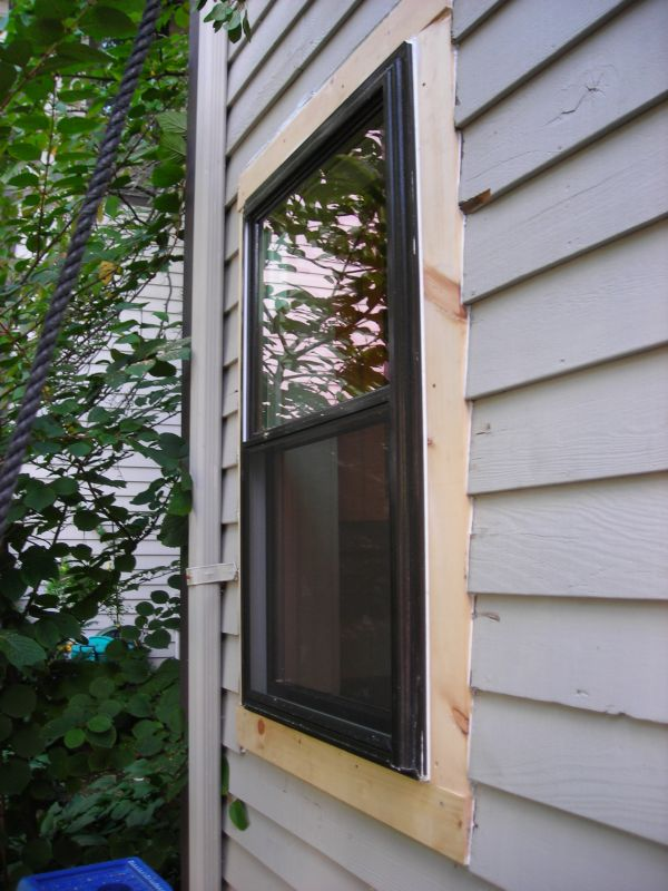How To Install Exterior Trim Around A Window - Round Designs